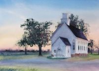Twilight Church by Patricia Henderson