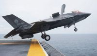 F-35 Lightning II Short Takeoff from Carrier #2