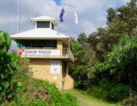 Marine Rescue Tower at Brunswick Heads