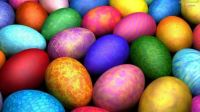 Theme Oval Things - Easter Eggs