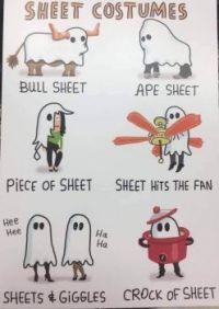 Sheet Costumes
