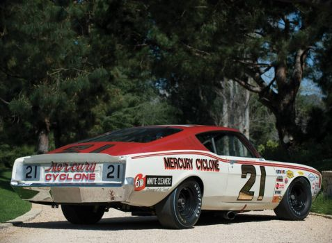 David Pearson´s racing car