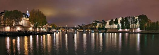 Le pont des arts, Paris