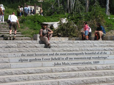 John Muir quote--Mt. Rainier