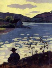 Fisherman on the Laita-1890 by Paul Serusier