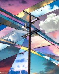 A Collage of Twenty Skies