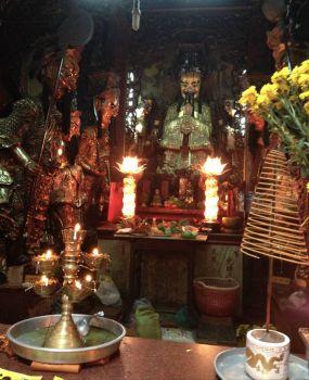 Temple in Ho Chi Min City, Vietnam