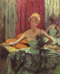 Jane Renourdt   - Eduoard Vuillard