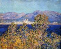 Claude Monet - Antibes seen from  The Cape Mistral Wind, 1888 - especially for WeeMarie (Mar17P49)