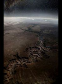 Grand Canyon, satellite image from NASA