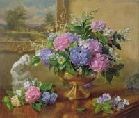 Hydrangeas and Lilacs