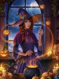 Harvest Witch (large)