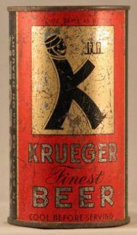 Krueger Beer (oddball seam) - Lilek #484A