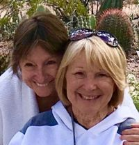 Desert Botanical Garden, 2-19-2019, Maggie & Aggie