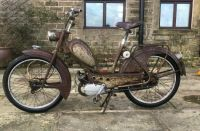 Rusty Moped