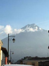 Volcano in Antigua Guatemala