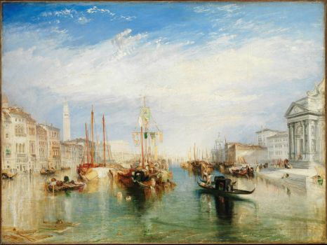 Venice from the Porch of Madonna della Salute 1835