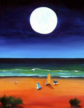 """Full Moon Beach"""