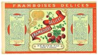 Themes Vintage ads - Framboises Delices