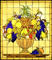 Tiffany Style Stained Glass Window