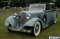 1934 Lincoln Model KB Series 271 by Brunn Brougham Town Car Laundelette left