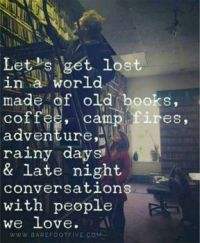 let's get lost . . .