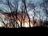 Západ slunce na Zahrádkách