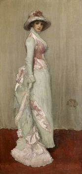 Harmony in Pink and Grey: Portrait of Lady Meux 1881-82