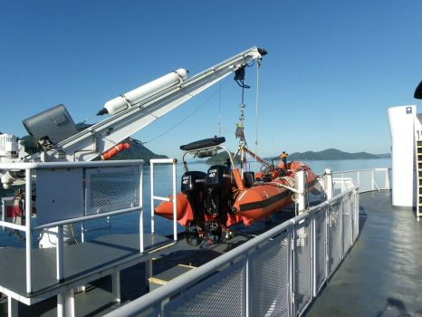 BC Ferries rescue boat