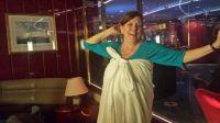 toga night on the ship