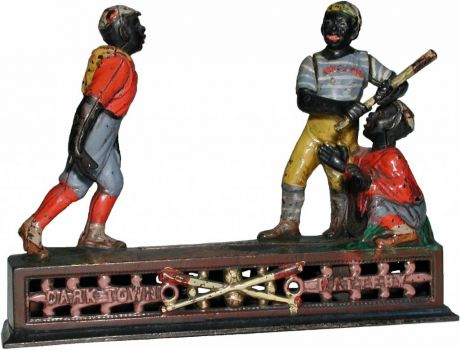 Dark Town Battery - Antique Mechanical Bank