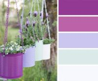 Hanging Paint Can Planters