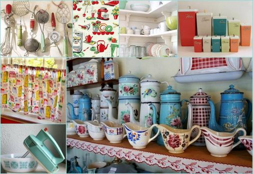 Retro Kitchen Delights - larger