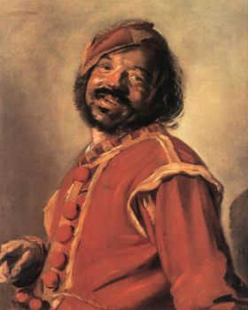Mulatto by Frans Hals