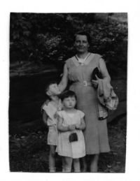Gradma, Dad and Aunt Ursula ca. 1936