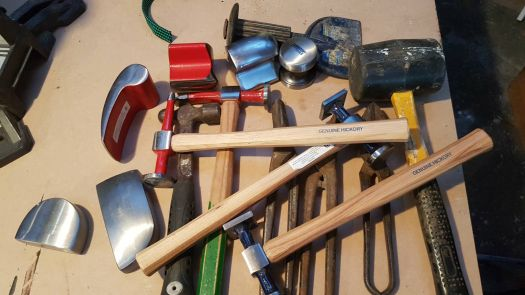Panelbeating tools