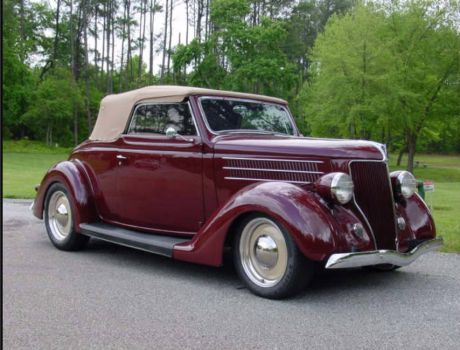 36 ford  convertible!!!(spunky & the bandit)