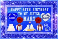 ==HAPPY 84TH BIRTHDAY DEAR MARY==
