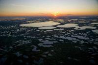 Humid Area Near Surgut Siberia Russia Photograph by YANN ARTHUS BERTRAND