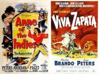 Jean Peters ~ Anne of the Indies ~ 1951 and Viva Zapata ~ 1952