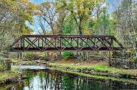 The Old Rail Bridge in 600 Pieces