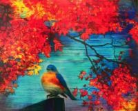 songs of autumn, bluebird