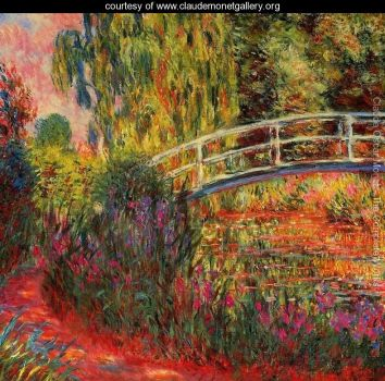 Claude Monet - The Water Lily Pond aka Japanese Bridge (Apr17P11)
