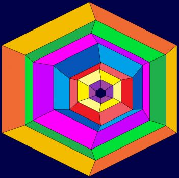 Hexagons Inside (Medium)