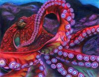 GIANT PACIFIC OCTOPUS - ERICK VILLEGAS, ARTIST (California Coastline Commission)
