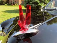 1951 Ford Victoria Black w red bird hood ornament