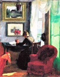 Kitty Lange Interior (1883)