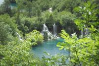 Some of the falls at Plitvice Lakes National Park, Croatia