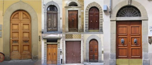 An Entrancement* of Doors of Florence (large.2)
