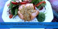 Today Is National Crab-Stuffed Flounder Day!!